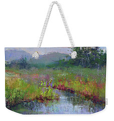 Alder Meadow Morning Weekender Tote Bag