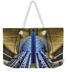 Alien Landing Weekender Tote Bag by Evelina Kremsdorf