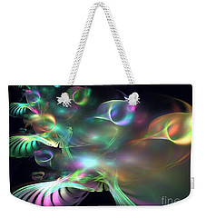 Alien Shrub Weekender Tote Bag