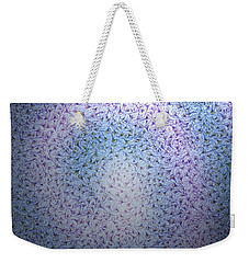 Weekender Tote Bag featuring the digital art Alien Skin by George Pedro
