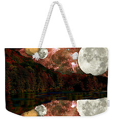 Weekender Tote Bag featuring the photograph Alien World by Sarah McKoy