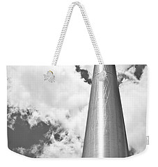 Weekender Tote Bag featuring the photograph All About Perspective by Janie Johnson
