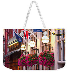 All Dressed Up For The Olympics.  Weekender Tote Bag by Shirley Mitchell