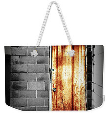 Alley Door 2 Weekender Tote Bag