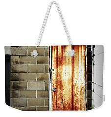 Alley Door Weekender Tote Bag