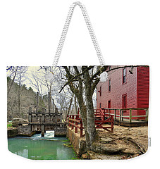 Weekender Tote Bag featuring the photograph Alley Spring Mill 34 by Marty Koch
