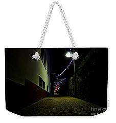 Alley With Lights Weekender Tote Bag