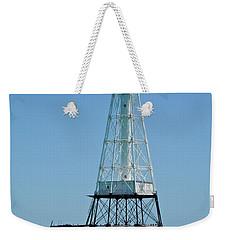 Alligator Lighthouse Weekender Tote Bag by Carol  Bradley