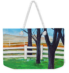 Along The Lane Weekender Tote Bag