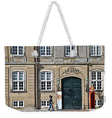 Weekender Tote Bag featuring the photograph Amalienborg Palace by Steven Richman