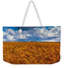 Amber Waves Of Grain Weekender Tote Bag by Doug Long