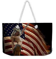 American Cowgirl Weekender Tote Bag by Tbone Oliver