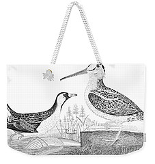 American Ornithology Weekender Tote Bag