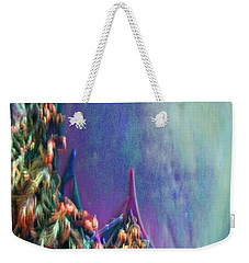 Weekender Tote Bag featuring the digital art Ancesters by Richard Laeton