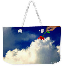 And A Cherry On Top Weekender Tote Bag by Methune Hively