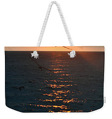 ...and At The End Of The Day... Weekender Tote Bag by Valerie Rosen