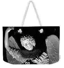Angel Weekender Tote Bag by Bonnie Myszka