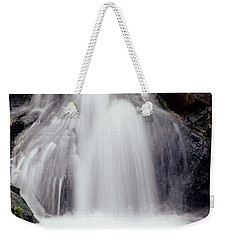 Weekender Tote Bag featuring the photograph Angel Hair by Sharon Elliott