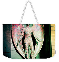 Weekender Tote Bag featuring the photograph Angel In The City Of Angels by Nina Prommer