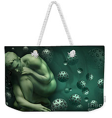 Animus Breathing Viriditas Weekender Tote Bag by Rosa Cobos