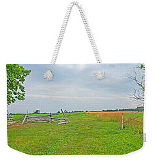 Weekender Tote Bag featuring the photograph Antietam Battle Of The Cornfield by Cindy Manero