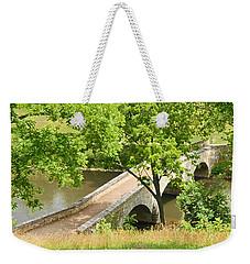 Weekender Tote Bag featuring the photograph Antietam's Burnside Bridge by Cindy Manero