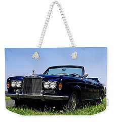 Antique Rolls Royce Weekender Tote Bag