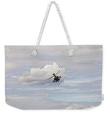Weekender Tote Bag featuring the photograph Apache by Maj Seda