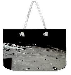 Apollo 11 Approaching Landing Site Weekender Tote Bag by Nasa