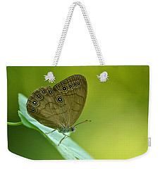 Weekender Tote Bag featuring the photograph Appalachian Brown by JD Grimes