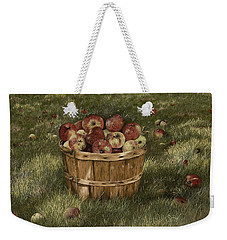 Apples In Basket Weekender Tote Bag