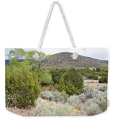 April New Mexico Desert Weekender Tote Bag