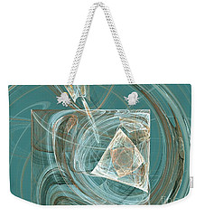 Aquaabstraction Weekender Tote Bag