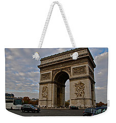 Weekender Tote Bag featuring the photograph Arc De Triomphe by Eric Tressler