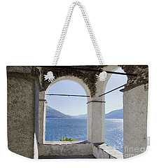 Arch And Lake Weekender Tote Bag