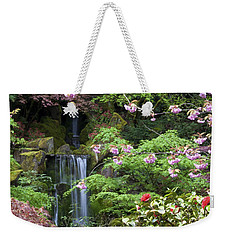Arching Cherry Blossoms Weekender Tote Bag