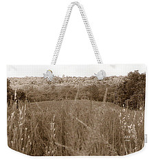 Are We Willing Black And White Weekender Tote Bag