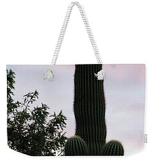 Arizona Cactus Erectus Weekender Tote Bag