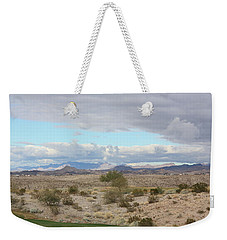 Arizona Desert View Weekender Tote Bag