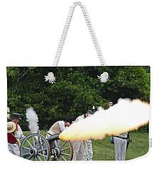 Artillery Demonstration Weekender Tote Bag