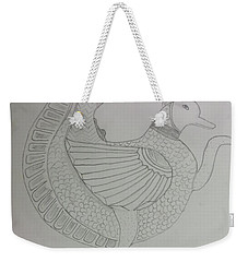 Weekender Tote Bag featuring the painting Artistic Teapot by Sonali Gangane