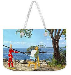 Artist's Art Weekender Tote Bag