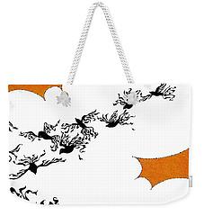 As The Crows Fly Weekender Tote Bag