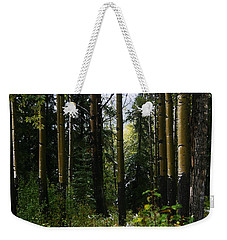 Aspens Banff National Park Weekender Tote Bag