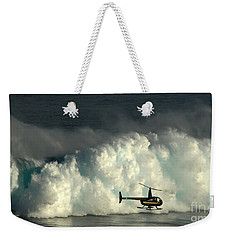 At Peahi Weekender Tote Bag