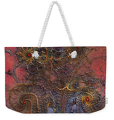 At The Moment Weekender Tote Bag by Casey Kotas
