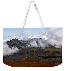At The Rim Of The Crater Weekender Tote Bag
