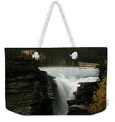 Athabasca Falls Jasper National Park Weekender Tote Bag
