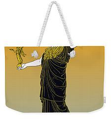 Athena, Greek Goddess Weekender Tote Bag by Photo Researchers