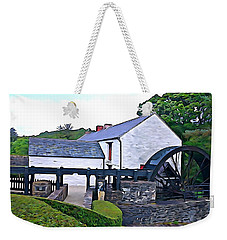 Weekender Tote Bag featuring the photograph Auld Mill  by Charlie and Norma Brock